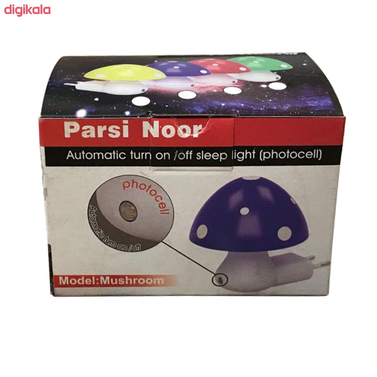 چراغ خواب کودک پارسی نو مدل Mushroom main 1 2