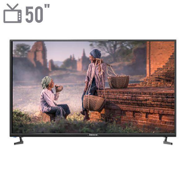 تلویزیون هوشمند ال ای دی زلموند مدل ZL-50SF638 سایز 50 اینچ