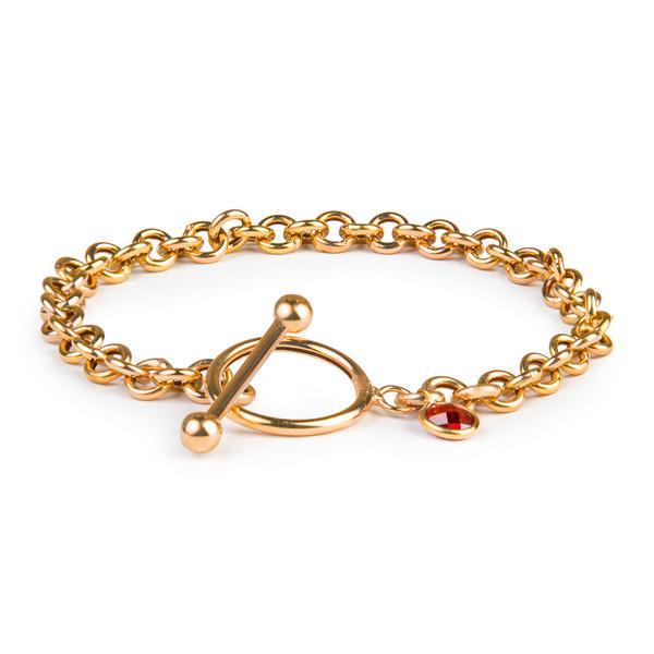 دستبند طلا زنانه ریسه گالری مدل 1305