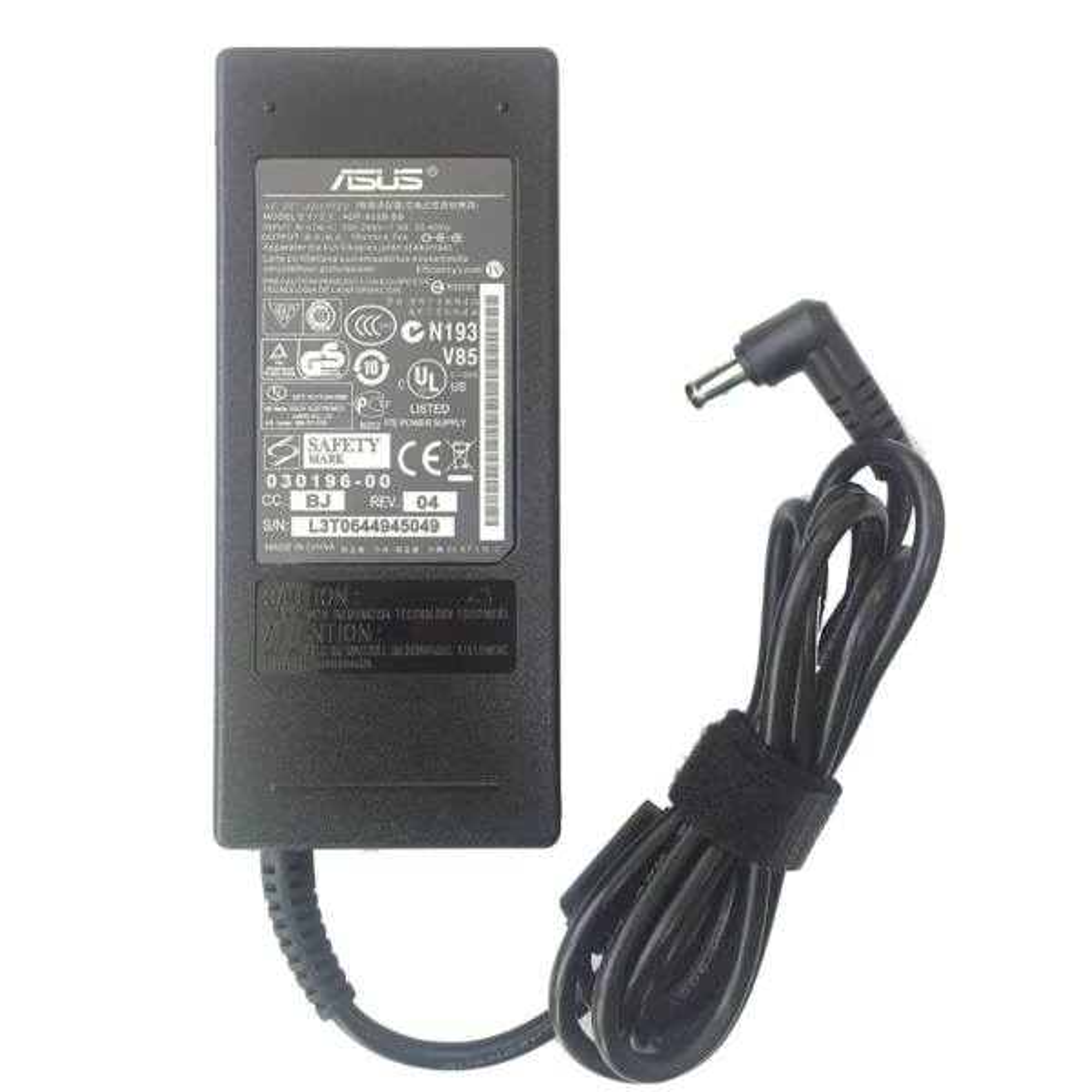 شارژر لپ تاپ 19 ولت 4.7 آمپر ایسوس مدلAdp-90sb-bb