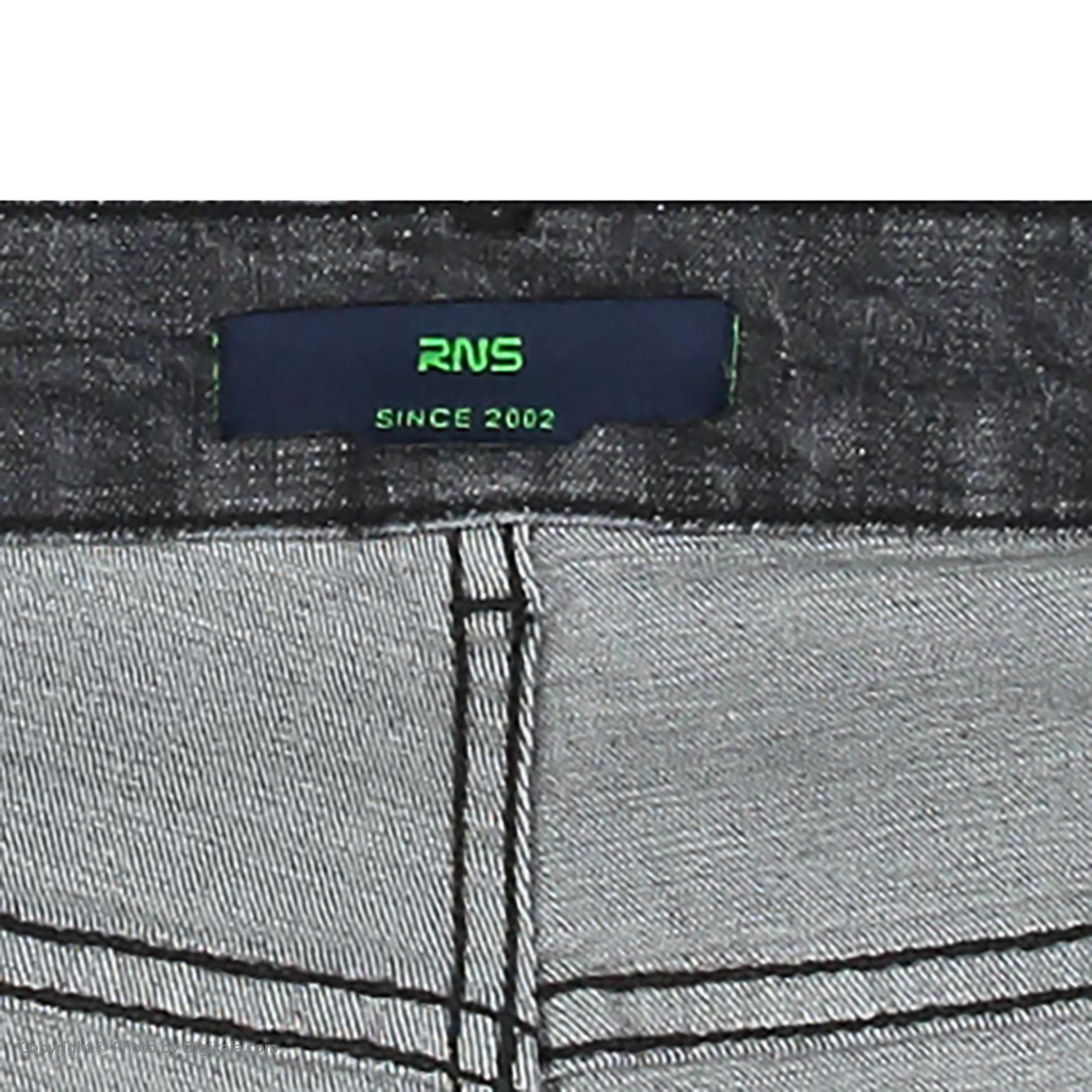شلوار جین مردانه آر ان اس مدل 133033-93 -  - 6