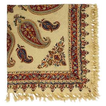 سفره قلمکار اصفهان گالری مند کد MS24 سایز 100 × 100 سانتی متر