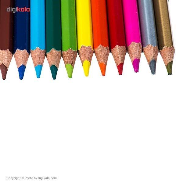 مداد رنگی 12 رنگ کوییلو مدل Value Pack main 1 2