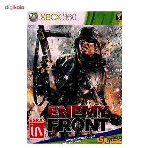 بازی Enemy Front مخصوص ایکس باکس 360  Enemy Front Game XBOX 360