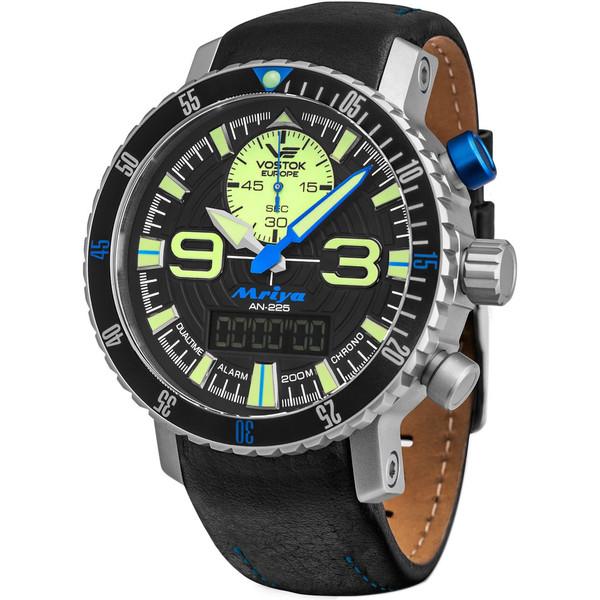 ساعت مچی عقربه ای مردانه وستوک یوروپ مدل 9516-5555249 تولید محدود
