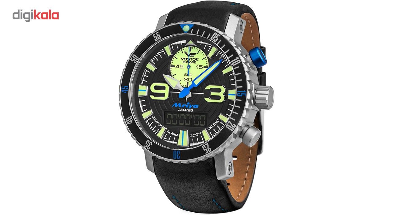 خرید ساعت مچی عقربه ای مردانه وستوک یوروپ مدل 9516-5555249 تولید محدود