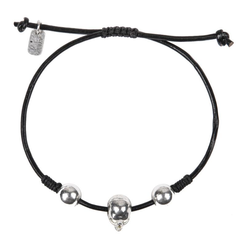 دستبند نقره مردانه ریسه گالری مدل CH1239