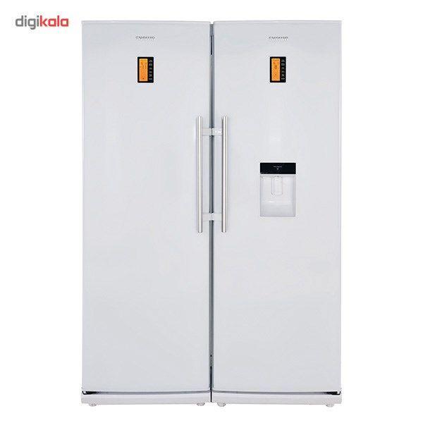 یخچال و فریزر دوقلوی اسنوا مدل SR-R388GW-SR-F389GW | Snowa SR-R388GW-SR-F389GW Refrigerator