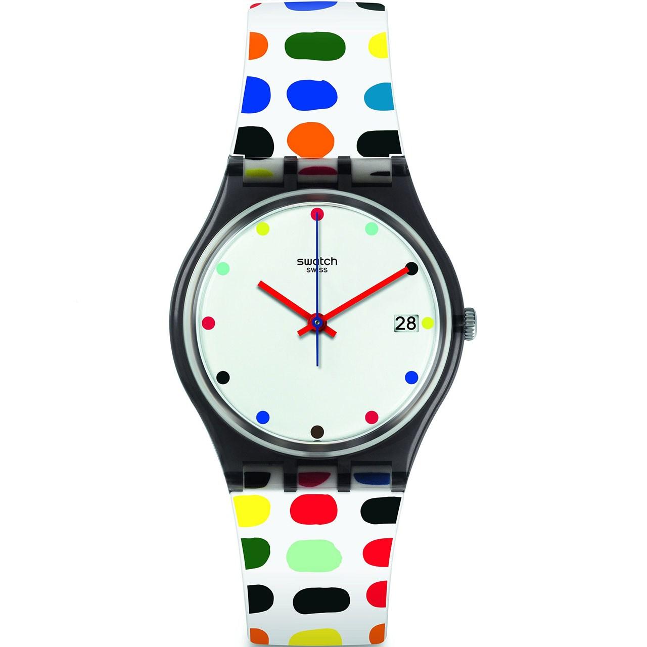 ساعت مچی عقربه ای زنانه سواچ مدل GM417 16