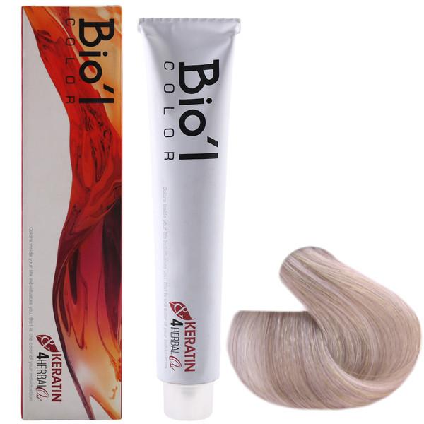 رنگ مو بیول شماره 11.1 حجم 100 میلی لیتر رنگ بلوند پلاتینه دودی روشن