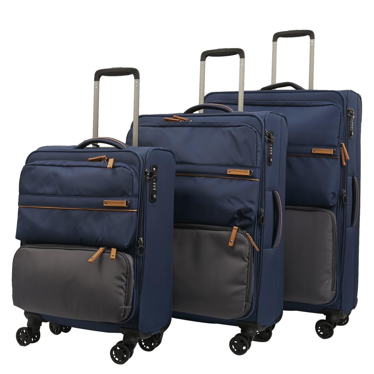 مجموعه سه عددی چمدان اکولاک مدل لورنزو