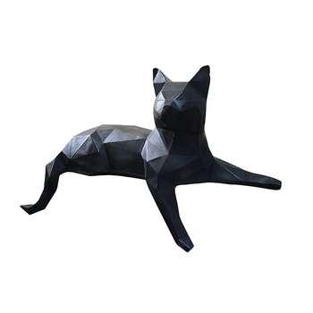 مجسمه مدل گربه گرافیکی