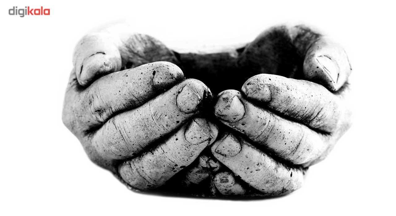 گلدان سیمانی دکو وسنا طرح دست مردانه