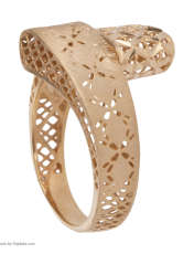 انگشتر طلا 18 عیار زنانه مایا ماهک مدل MR0379 -  - 3