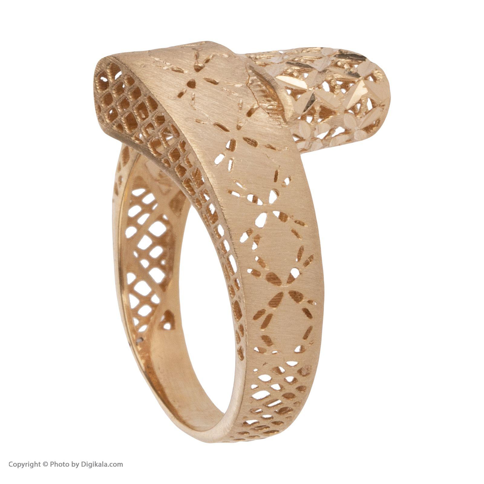 انگشتر طلا 18 عیار زنانه مایا ماهک مدل MR0379 -  - 4