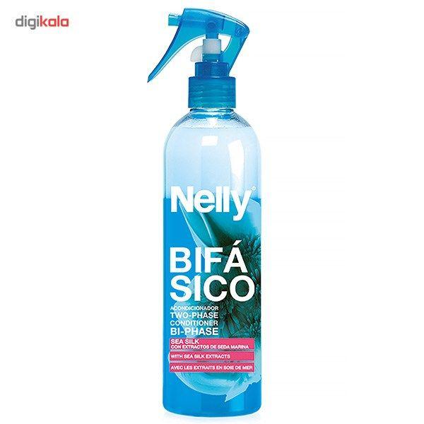 اسپری دو فاز روزانه نلی مدل Sea Silk حجم 200 میلی لیتر  Nelly Two-Phase With Sea Silk Hair Spray 2