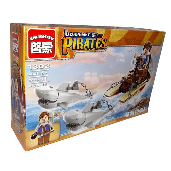 ساختنی انلایتن مدل دزد دریایی کد 1302