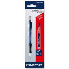 مداد نوکی استدلر مدل گرافیت 779 با قطر نوشتاری 0.5 میلی متر - همراه با نوک