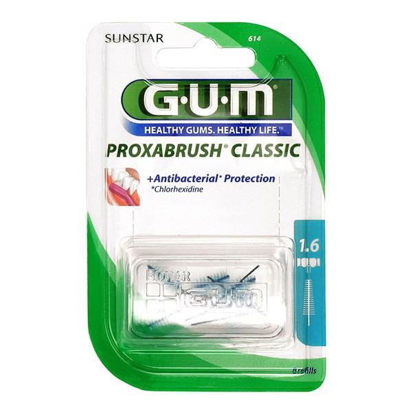 برس یدک مسواک بین دندانی جی یو ام مدل Proxabrush Classic سایز 1.6