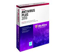 مک آفی آنتی ویروس پلاس 2013 برای یک کامپیوتر