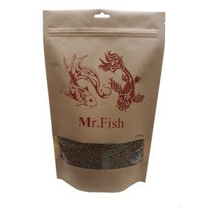 غذای ماهی مستر فیش مدل گرانول 3m وزن 1000 گرم