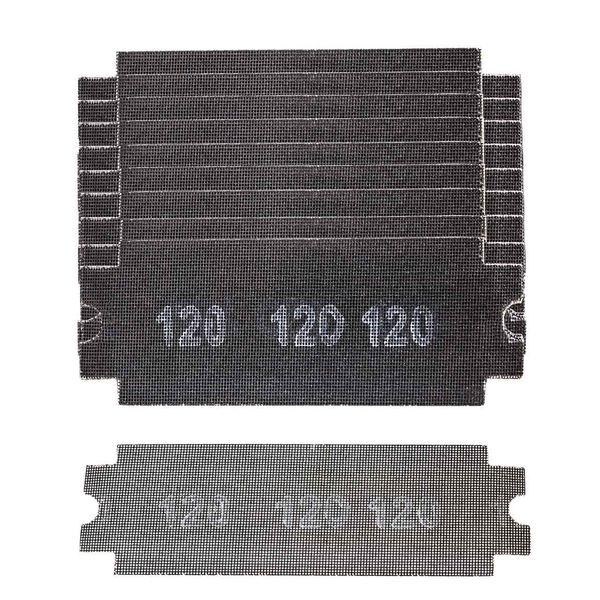مجموعه 10 عددی سنباده 120 مدل 163655 مخصوص دسته سنباده قفل شونده