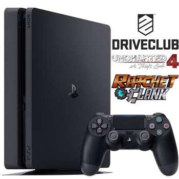 مجموعه کنسول بازی سونی مدل Playstation 4 Slim کد CUH-2016B ریجن 2 - ظرفیت 1 ترابایت