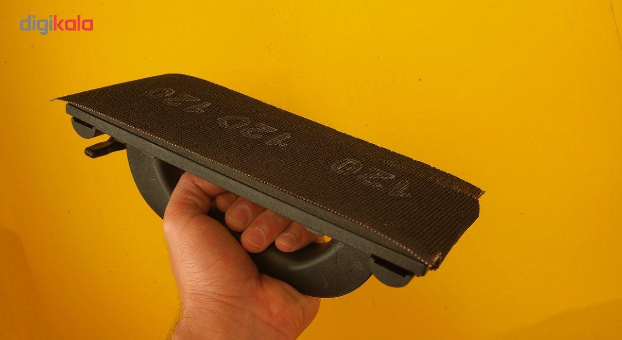 مجموعه 10 عددی سنباده 120 مدل 163655 مخصوص دسته سنباده قفل شونده main 1 3