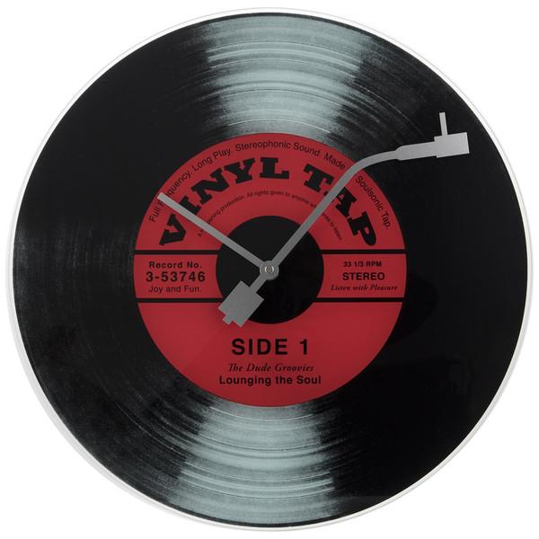 ساعت دیواری نکستایم مدل Vinyl Tap 8141