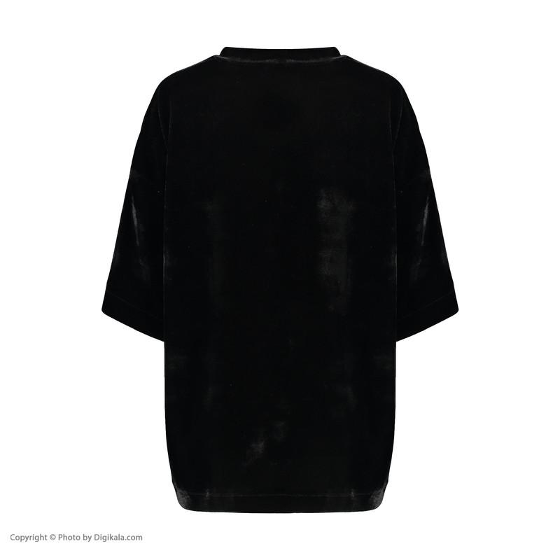 تی شرت آستین کوتاه زنانه گری مدل GW47