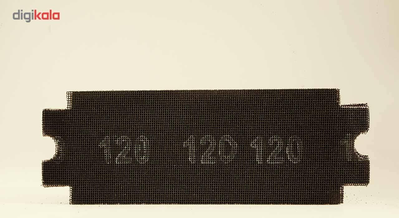 مجموعه 10 عددی سنباده 120 مدل 163655 مخصوص دسته سنباده قفل شونده main 1 5