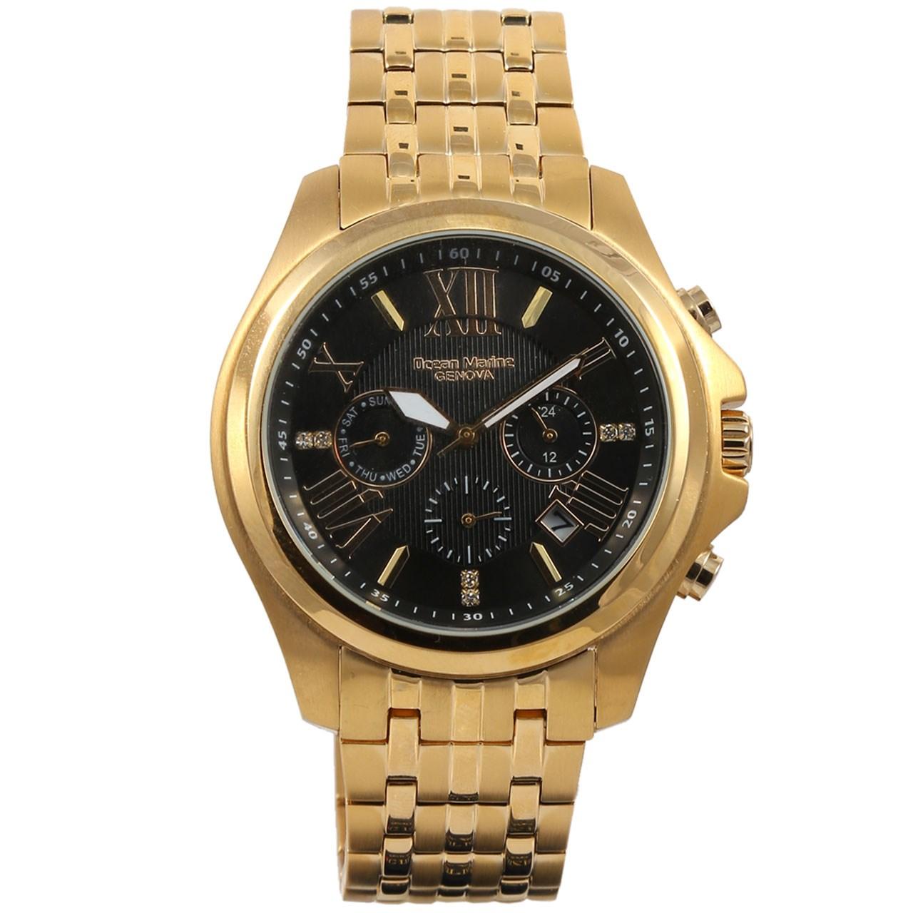 ساعت مچی عقربه ای مردانه اوشن مارین مدل OM9959-1 54