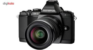 دوربین دیجیتال بدون آینه میکرو سه چهارم الیمپوس مدل OM-D E-M5  Olympus OM-D E-M5 Mirrorless Micro