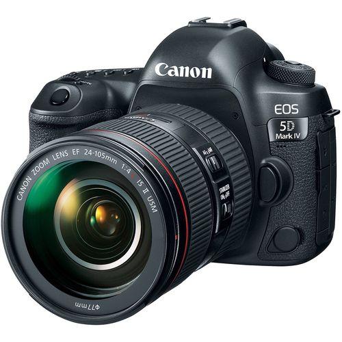 دوربین دیجیتال کانن مدل EOS 5D Mark IV به همراه لنز 24-105 میلی متر F4 L IS II
