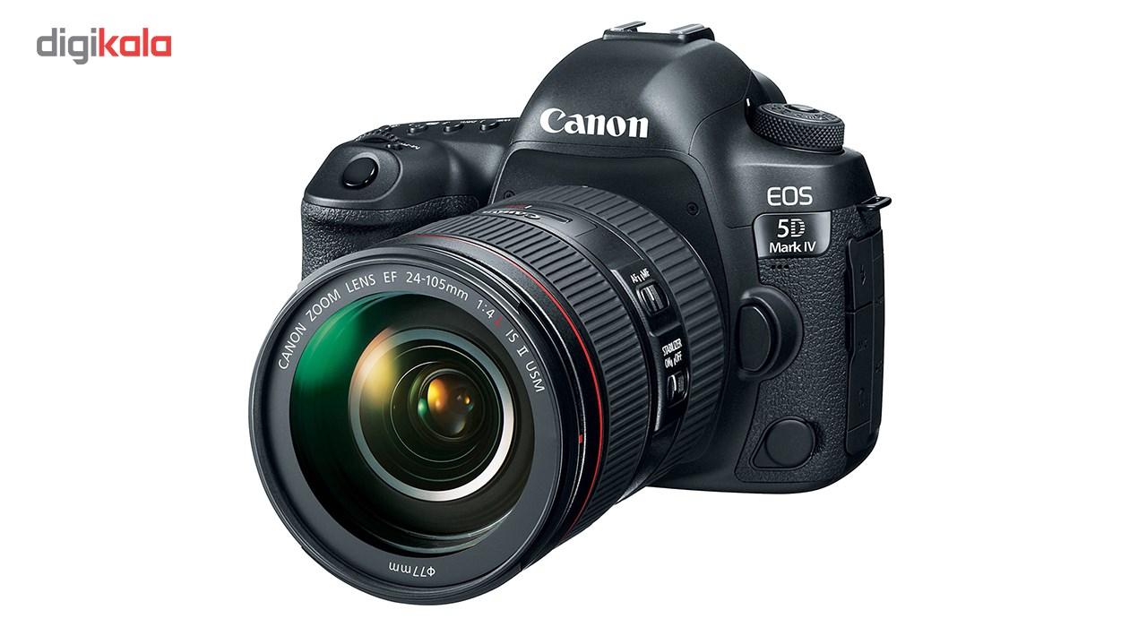 دوربین دیجیتال کانن مدل EOS 5D Mark IV به همراه لنز 24-105 میلی متر F4 L IS II main 1 1