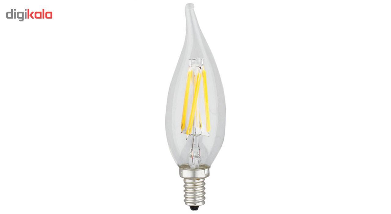 لامپ فیلامنتی 4 وات کداک مدل K41117 پایه E14  بسته 3 عددی