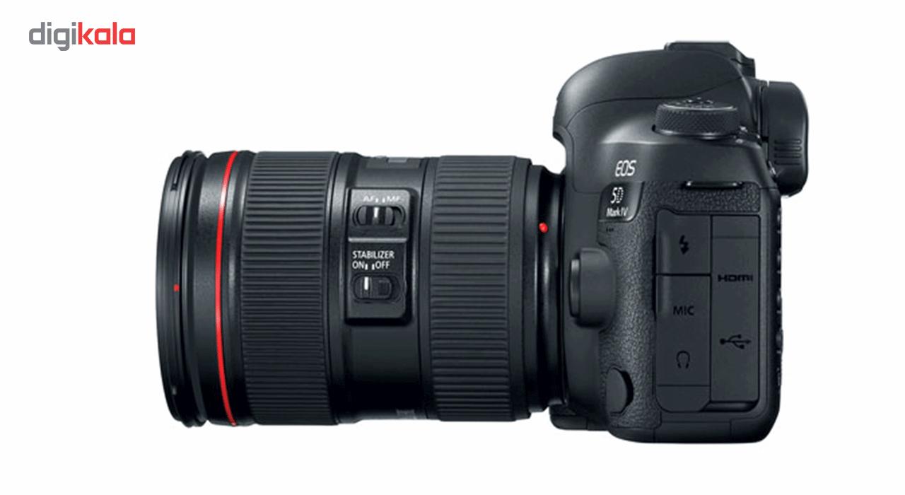 دوربین دیجیتال کانن مدل EOS 5D Mark IV به همراه لنز 24-105 میلی متر F4 L IS II main 1 3