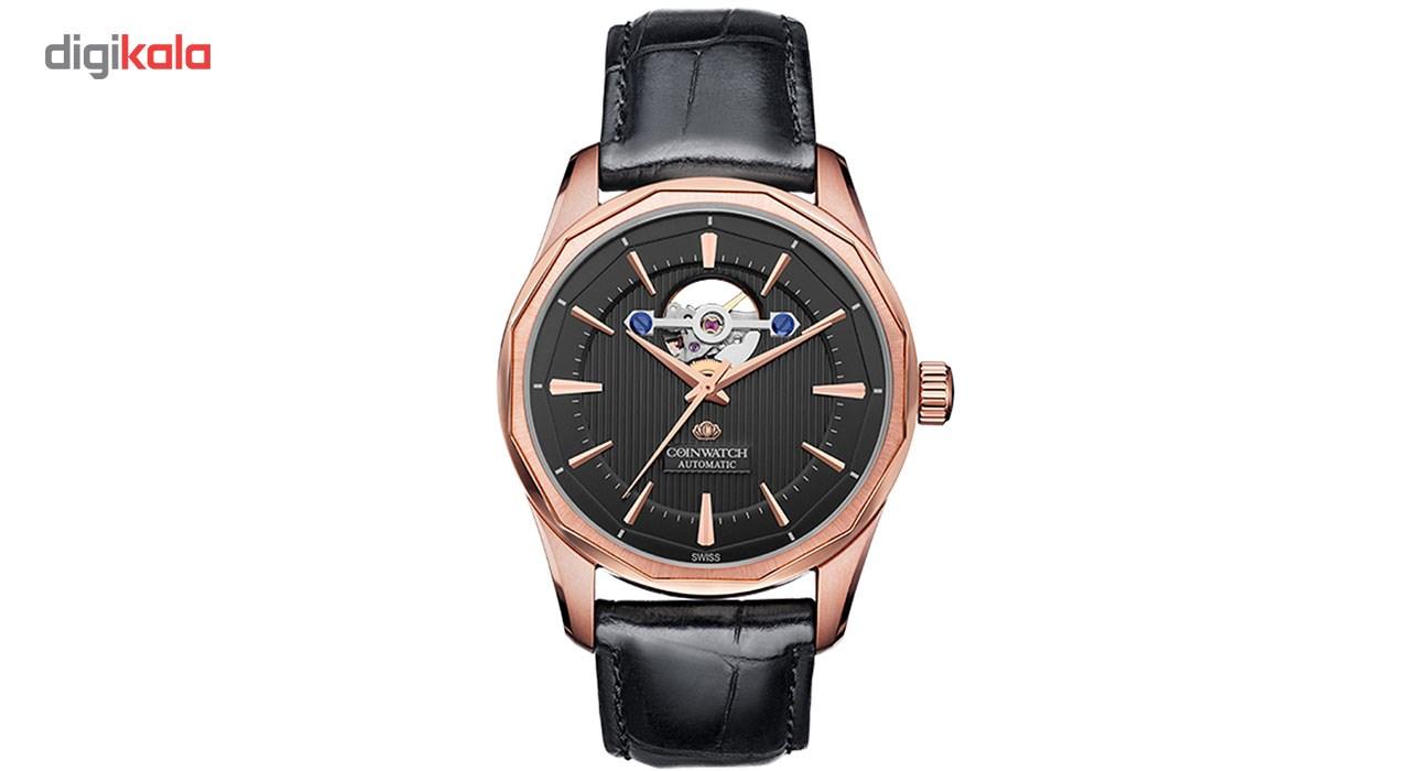 خرید ساعت مچی عقربه ای مردانه کوین واچ مدل C142RBK