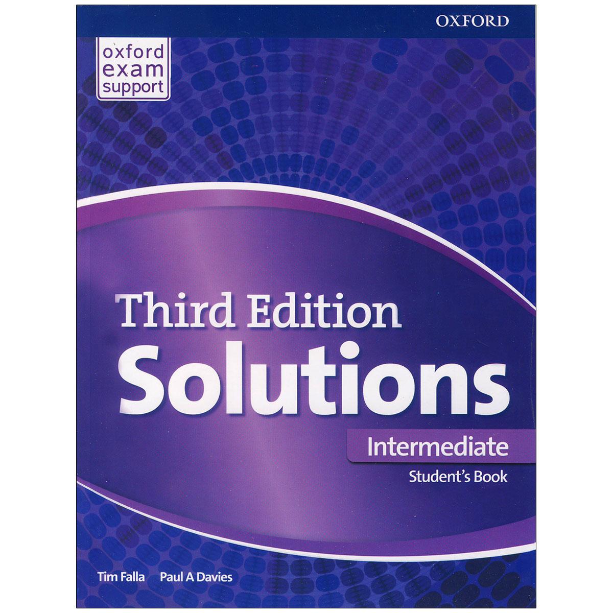 کتاب solutions intermediate اثر Tim Falla and Paul A Davies انتشارات OXFORD