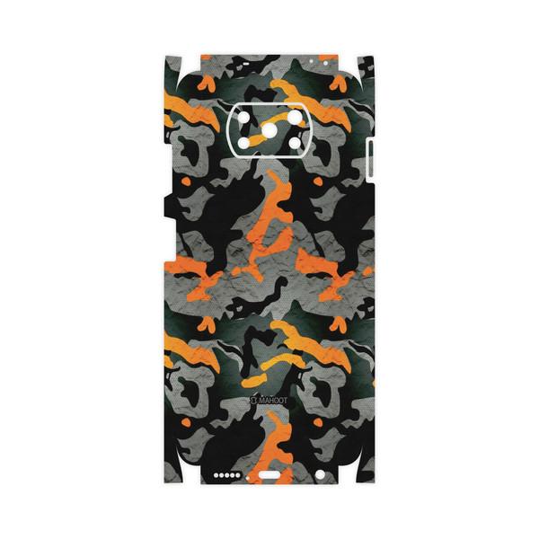 برچسب پوششی ماهوت مدل Autumn-Army-FullSkin مناسب برای گوشی موبایل شیائومی Poco X3 NFC
