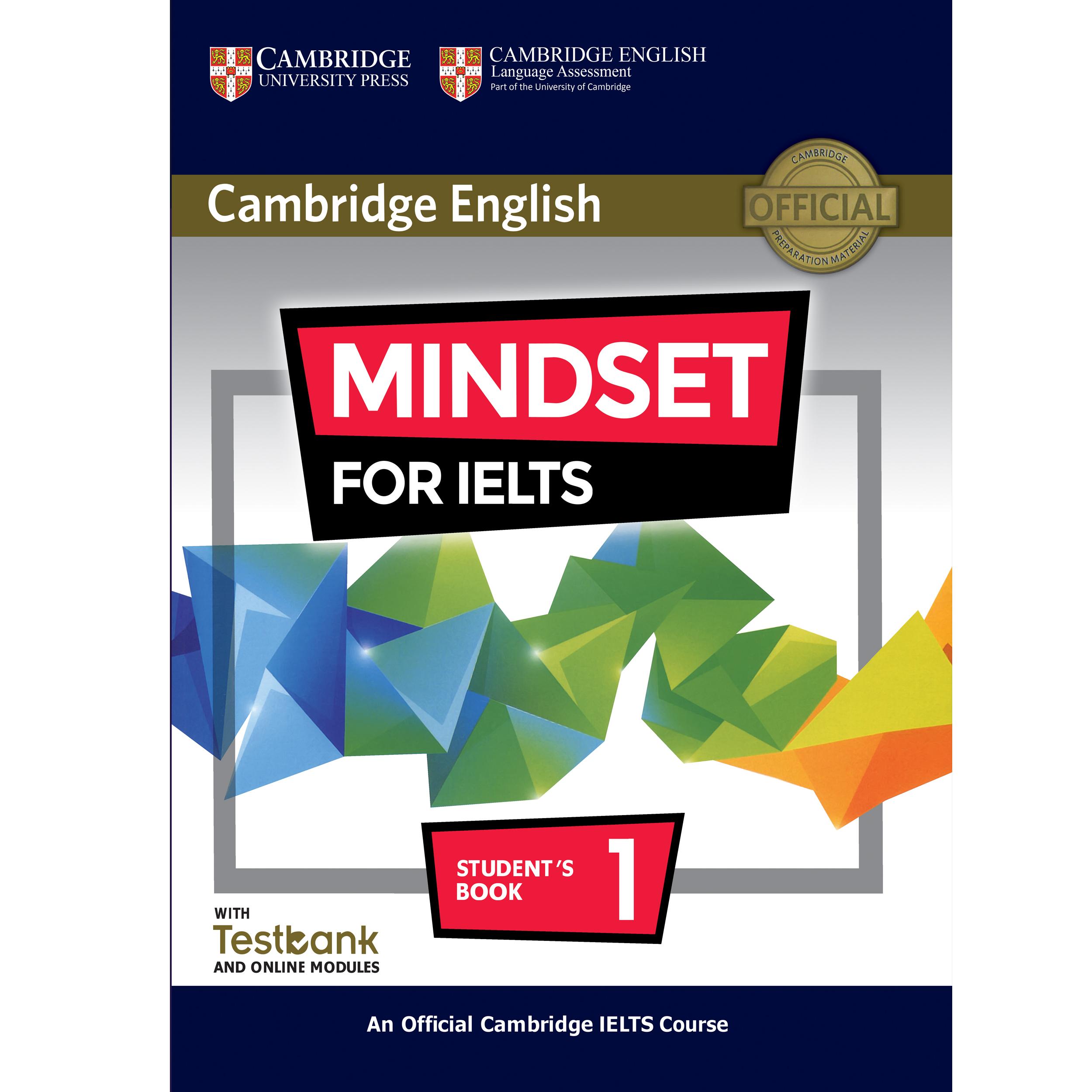 کتاب Cambridge English Mindset For IELTS 1 اثر جمعی از نویسندگان انتشارات هدف نوین