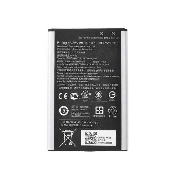 باتری موبایل مدل C11P1501 با ظرفیت 3000 میلی آمپر ساعت مناسب برای گوشی موبایل ایسوس Zenfone Selfie