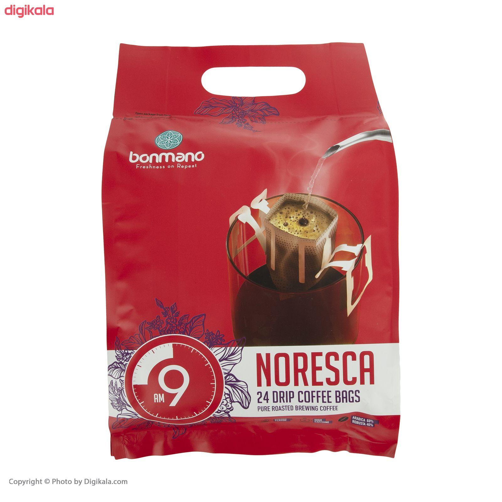 قهوه نورسکا بن مانو مدل 09AM - بسته 24 عددی    main 1 1