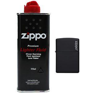 ست فندک و بنزین زیپو مدل 218 ZL