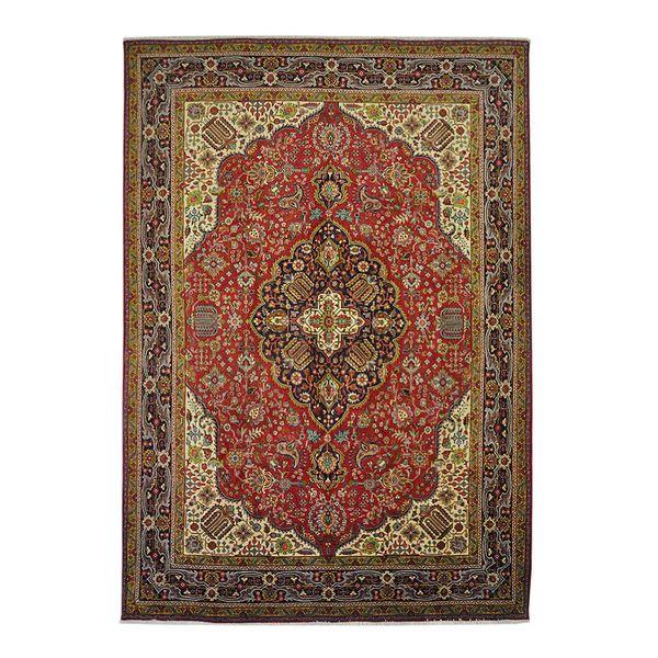 فرش دستبافت قدیمی نه متری کد 166018