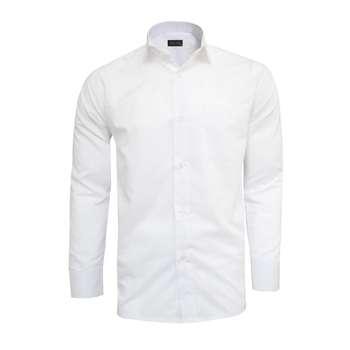 پیراهن مردانه نگین کد 20846 رنگ سفید