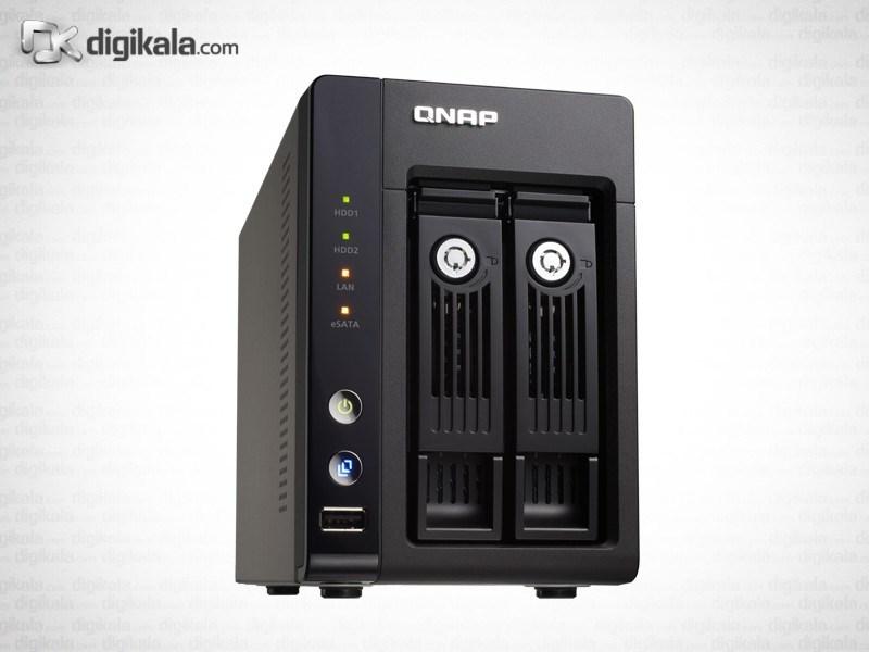ذخیره ساز تحت شبکه کیونپ مدل +TS-259 Pro بدون هارددیسک