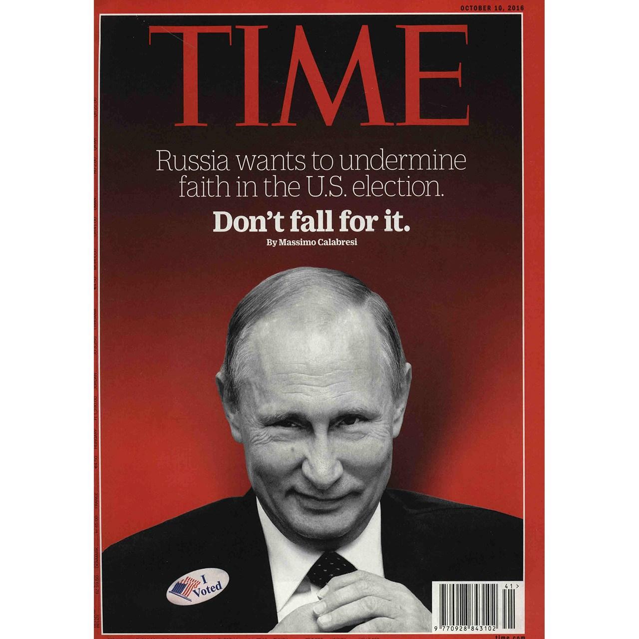 مجله تایم - دهم اکتبر 2016