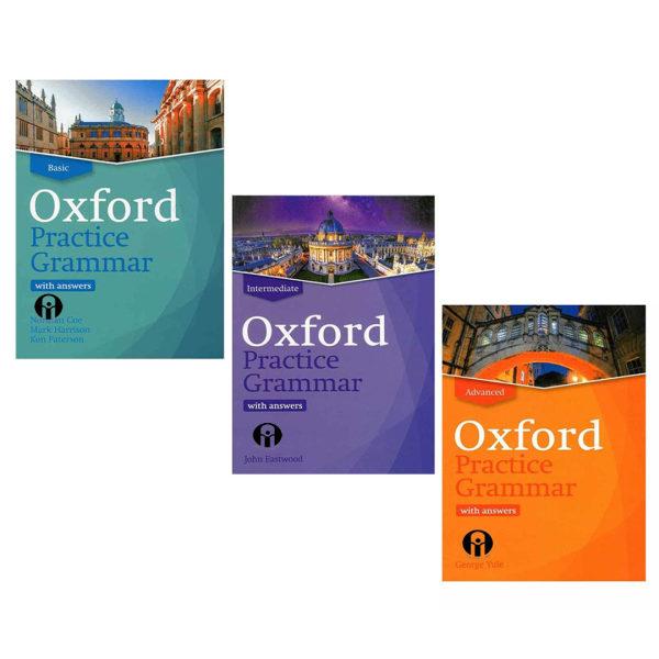 کتاب Oxford Practice Grammar Updated Edition اثر جمعی از نویسندگان انتشارات الوندپویان سه جلدی