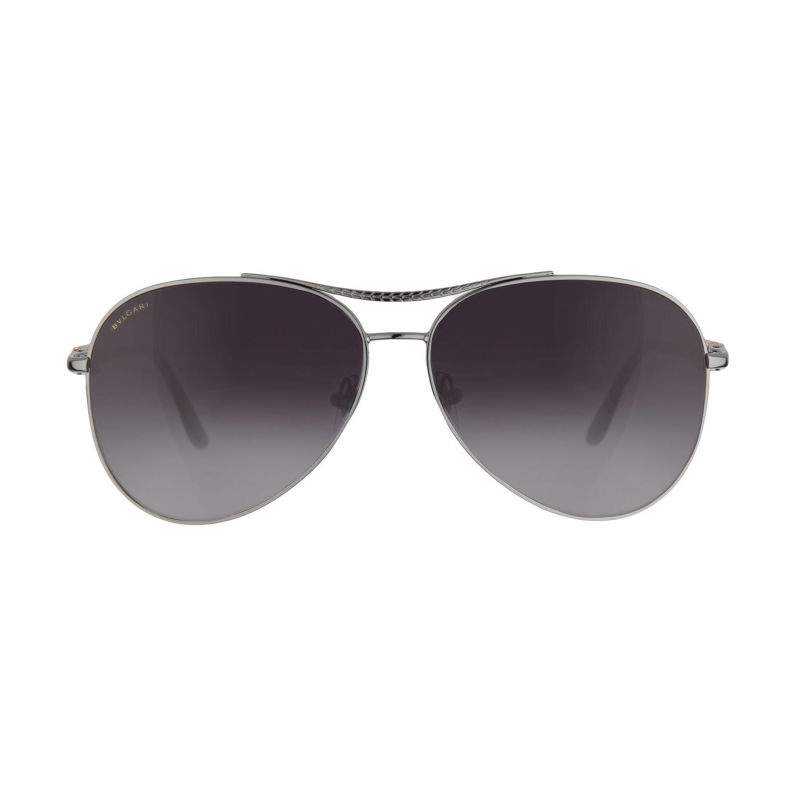 عینک آفتابی زنانه بولگاری مدل BV6075S 01038G -  - 2
